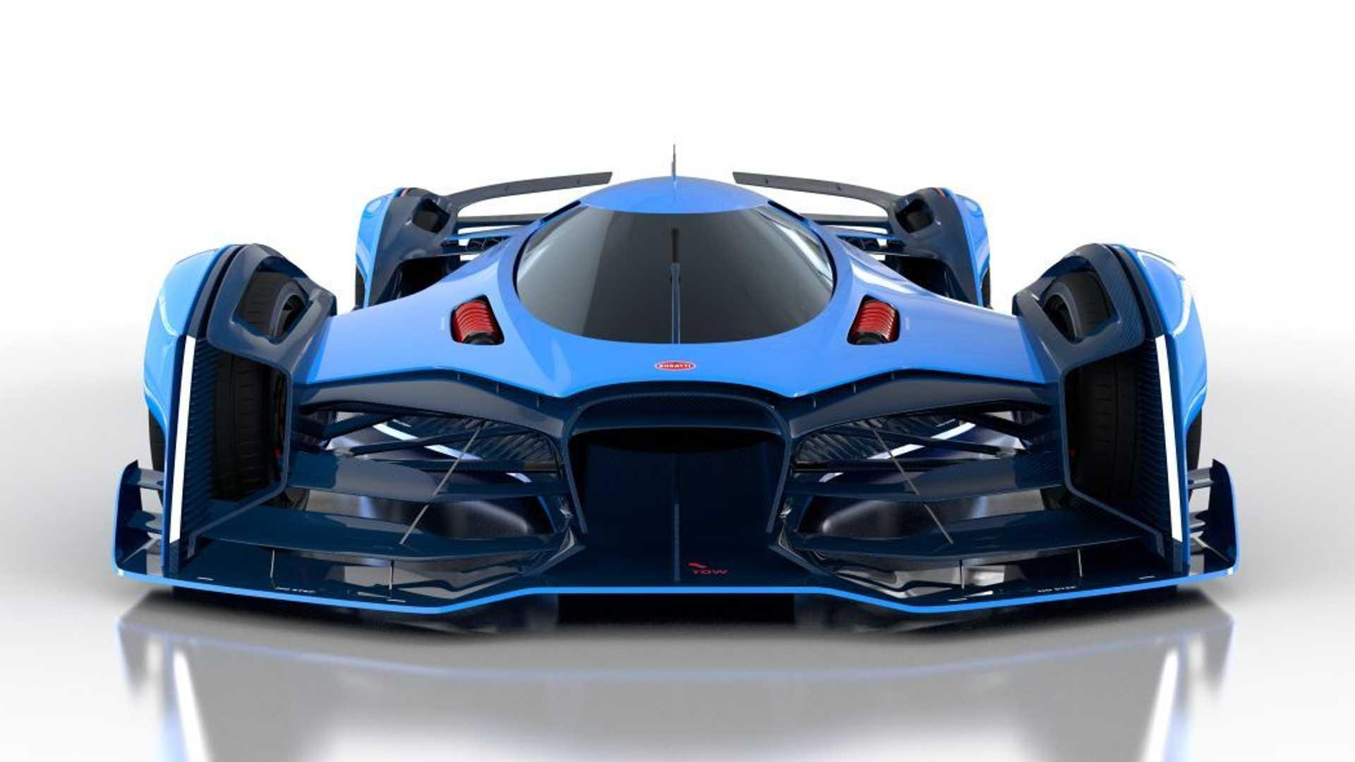 awesome view Bugatti Vision Le Mans