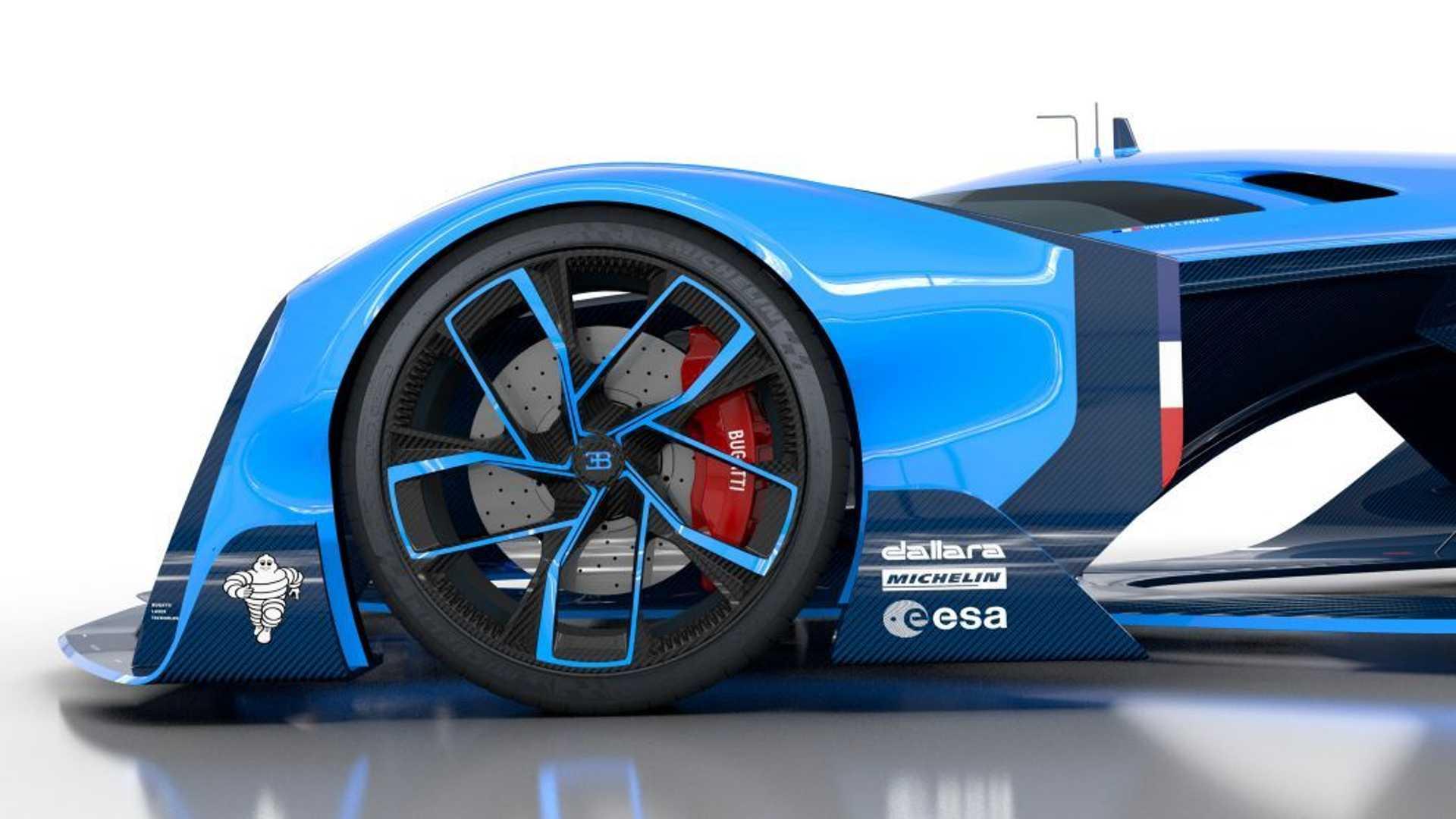 best vechile Bugatti Vision Le Mans