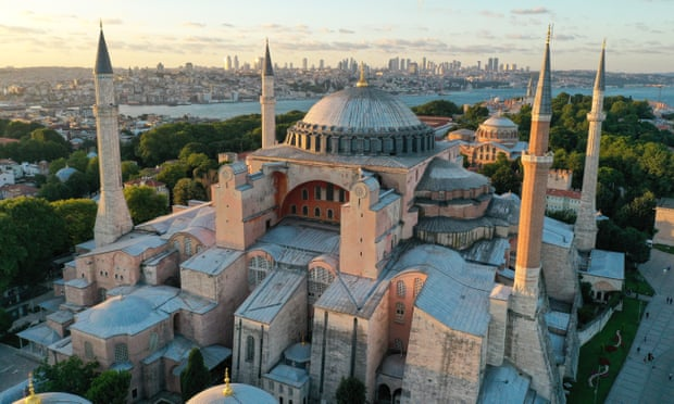 complex for Hagia Sophia