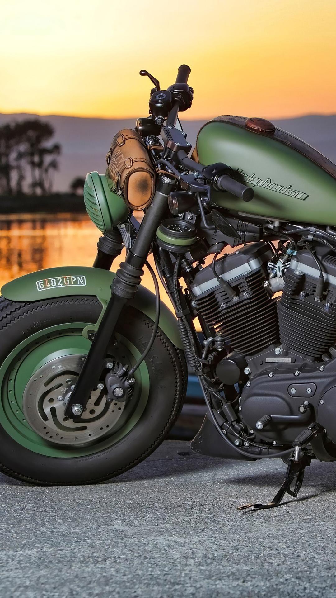 heavy bike Harley Davidson Wallpaper