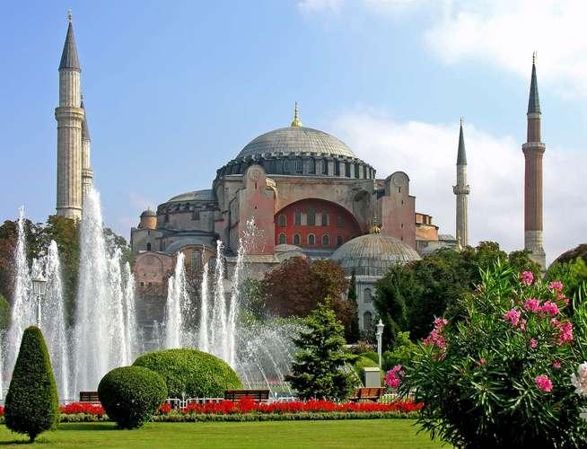 istanbul Hagia Sophia image
