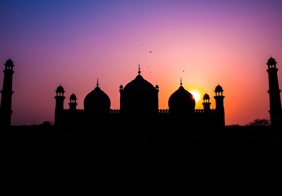 pakistan lahore Badshahi Mosque Wallpaper