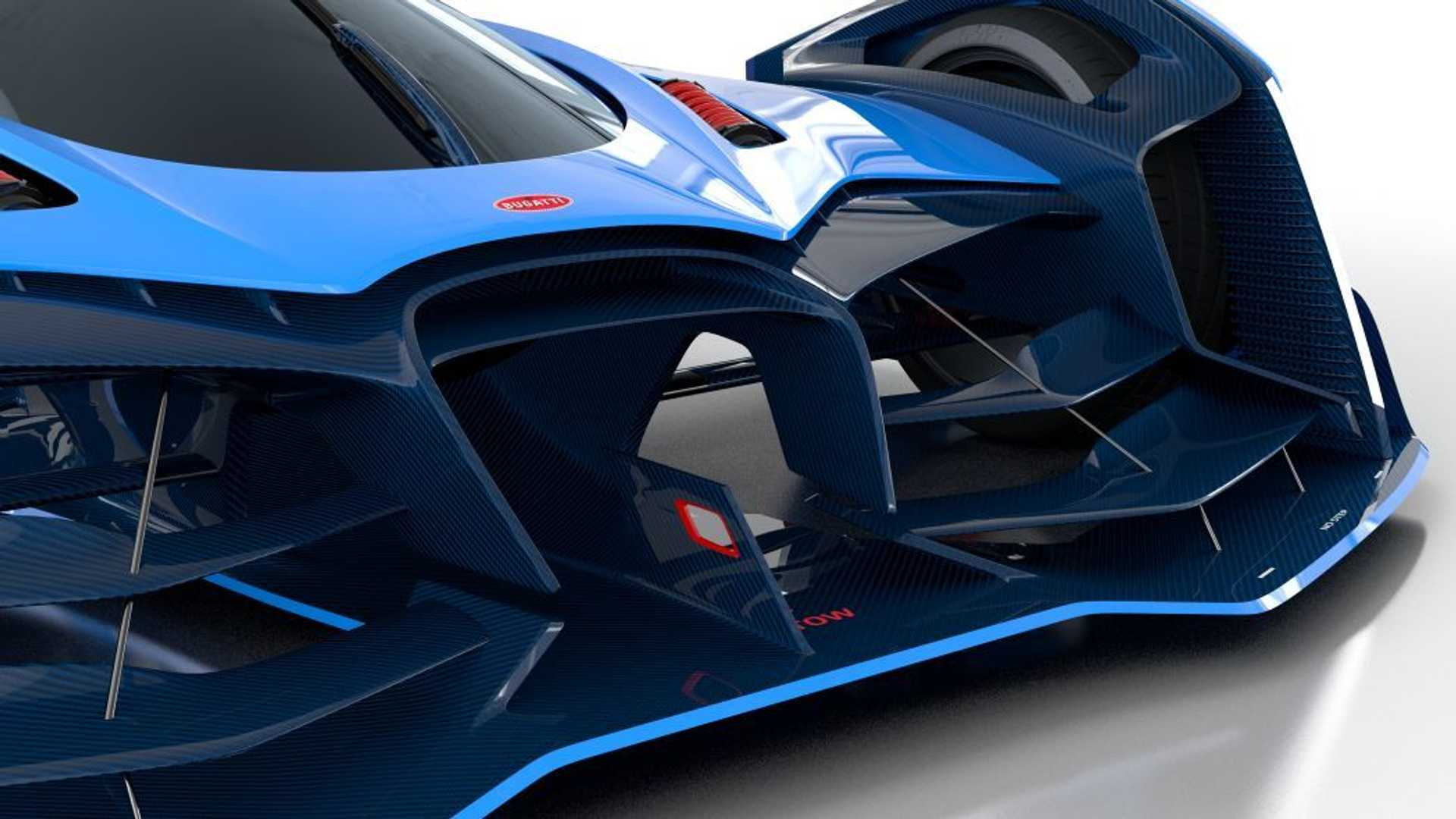 so nice Bugatti Vision Le Mans