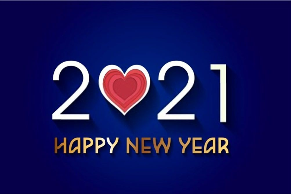 beautiful hd New Year 2021 Wallpaper