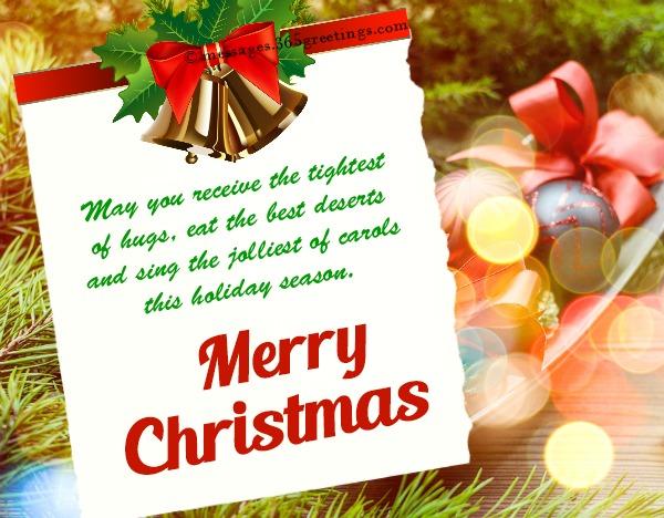 full top Christmas Greetings