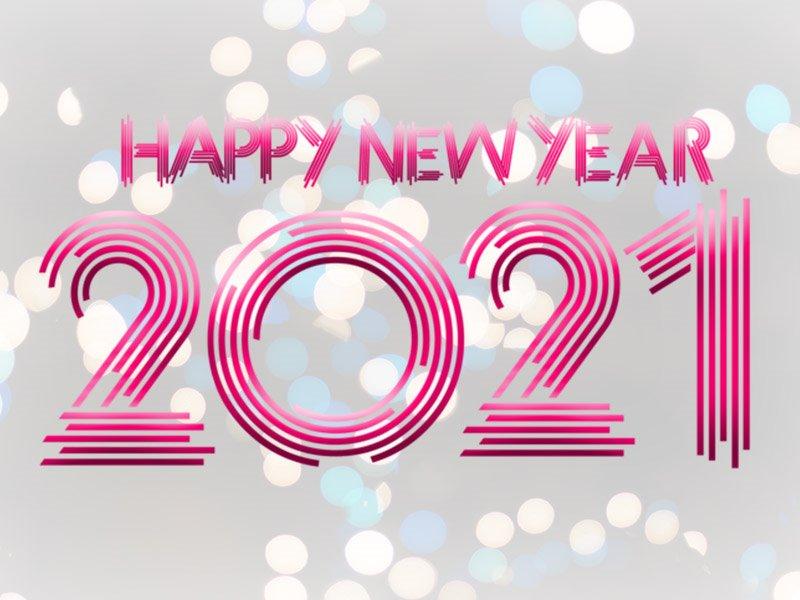 full top New Year 2021 Wallpaper