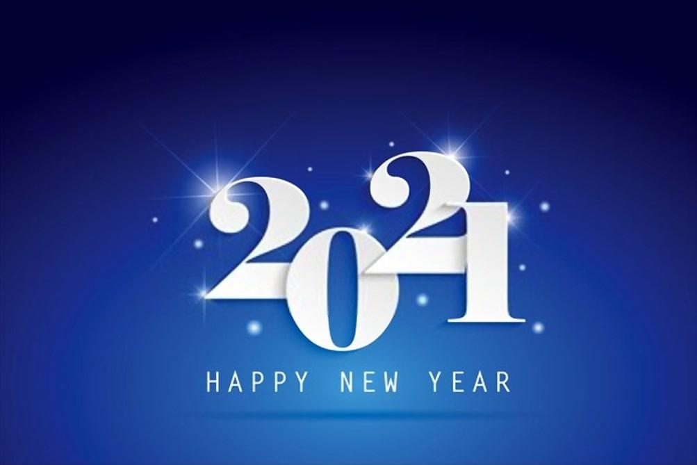 vector hd New Year 2021 Wallpaper