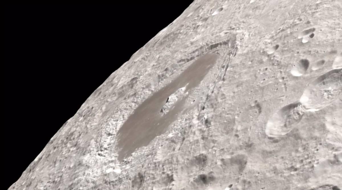 widescreen natural Moon Close up Images