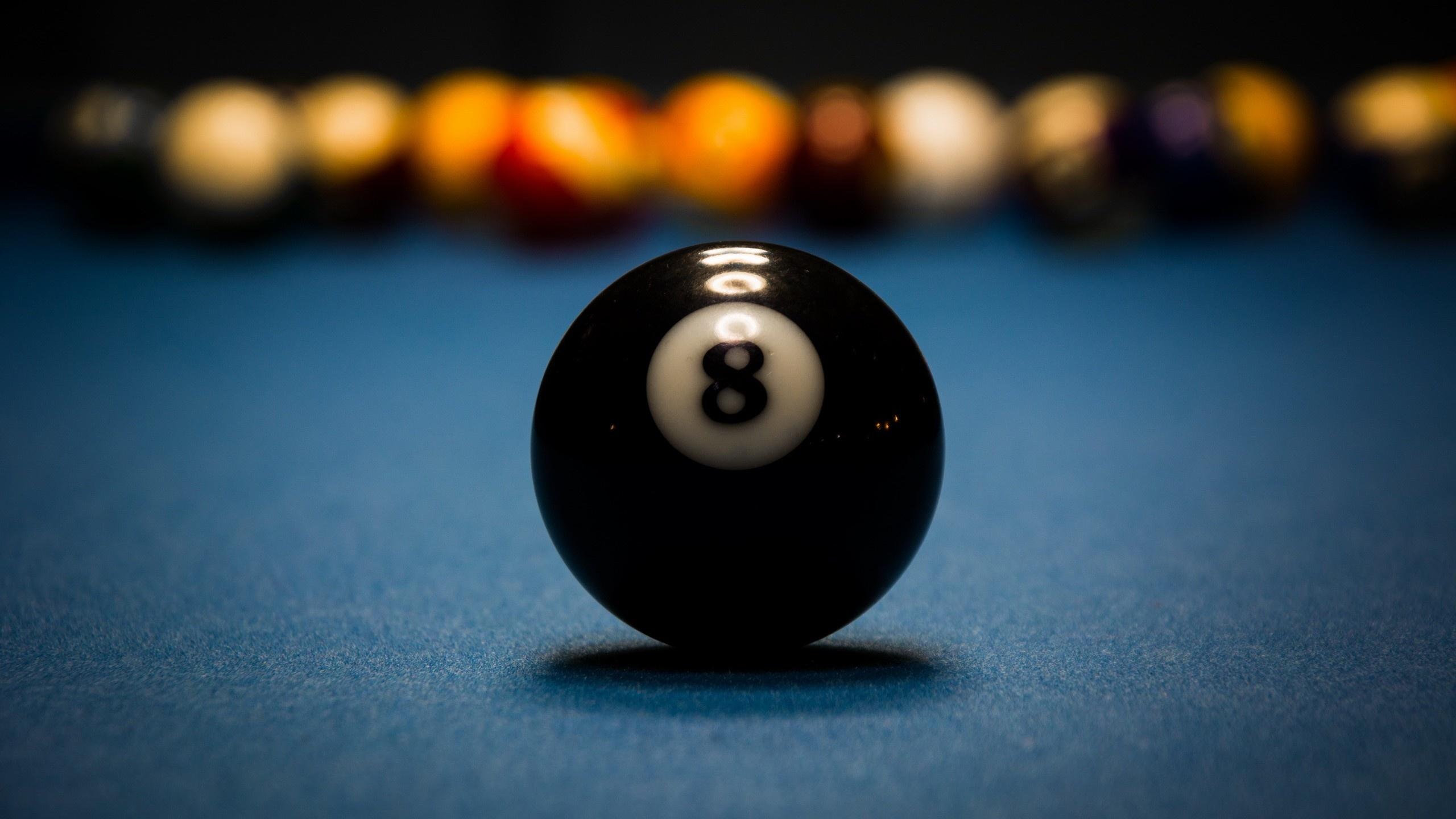 Billiard Ball On Table Wallpaper