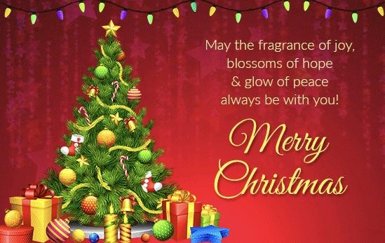 animated hd christmas tree image