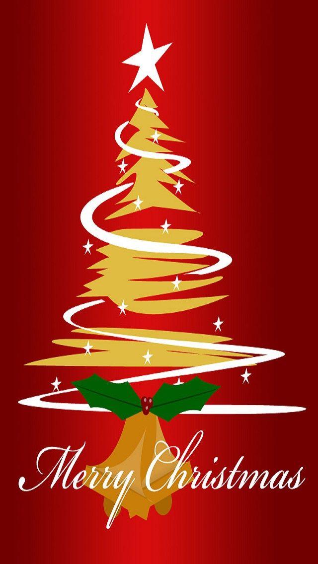 animated tree Merry Christmas Wallpaper