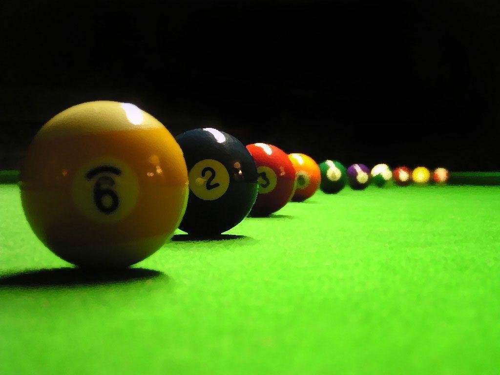 best Billiard Balls Wallpaper