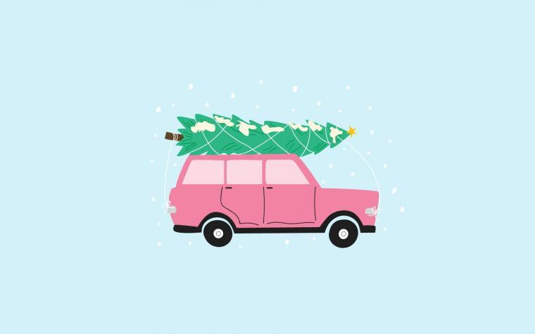free Cute Christmas Wallpaper
