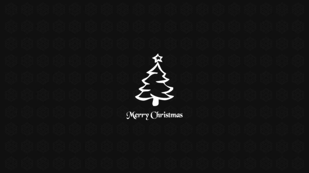 free Simple Christmas Wallpaper