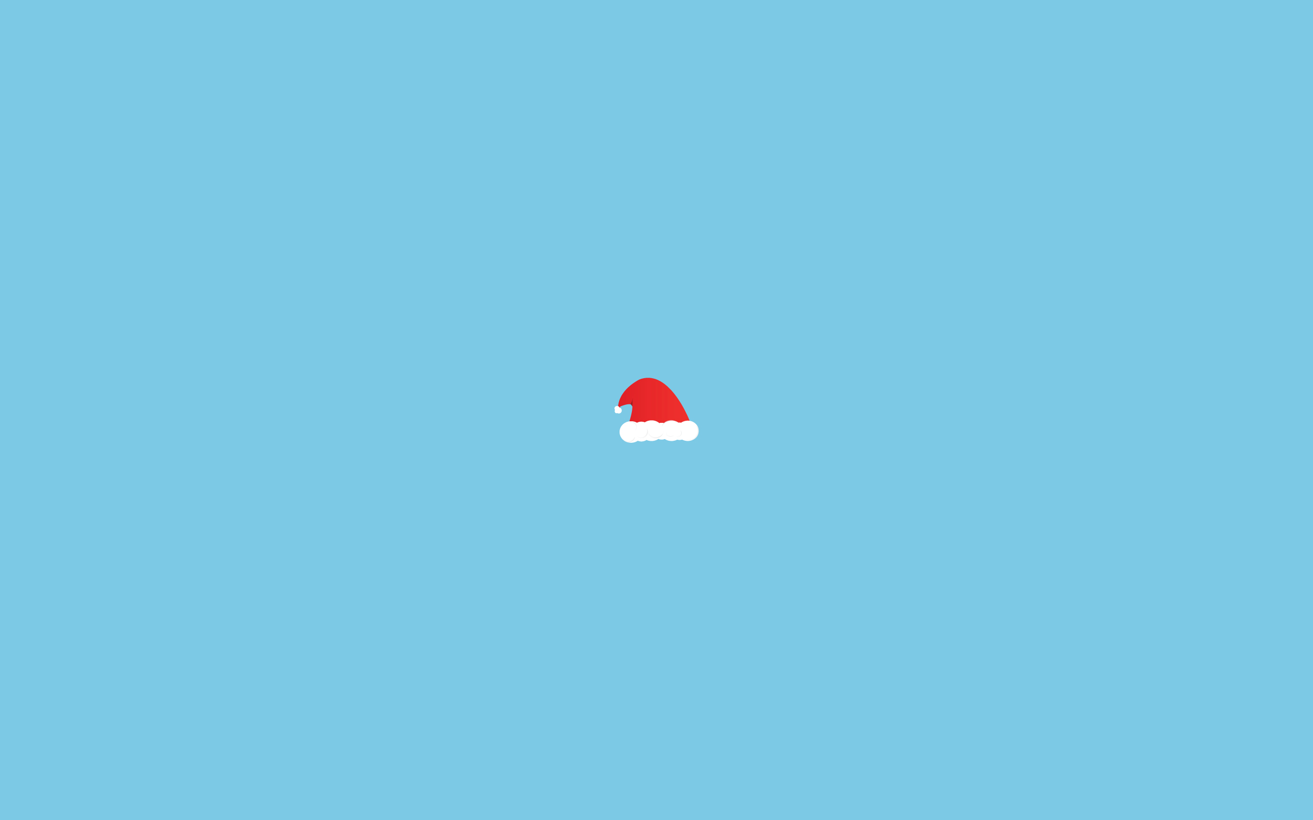 full 3d Simple Christmas Wallpaper