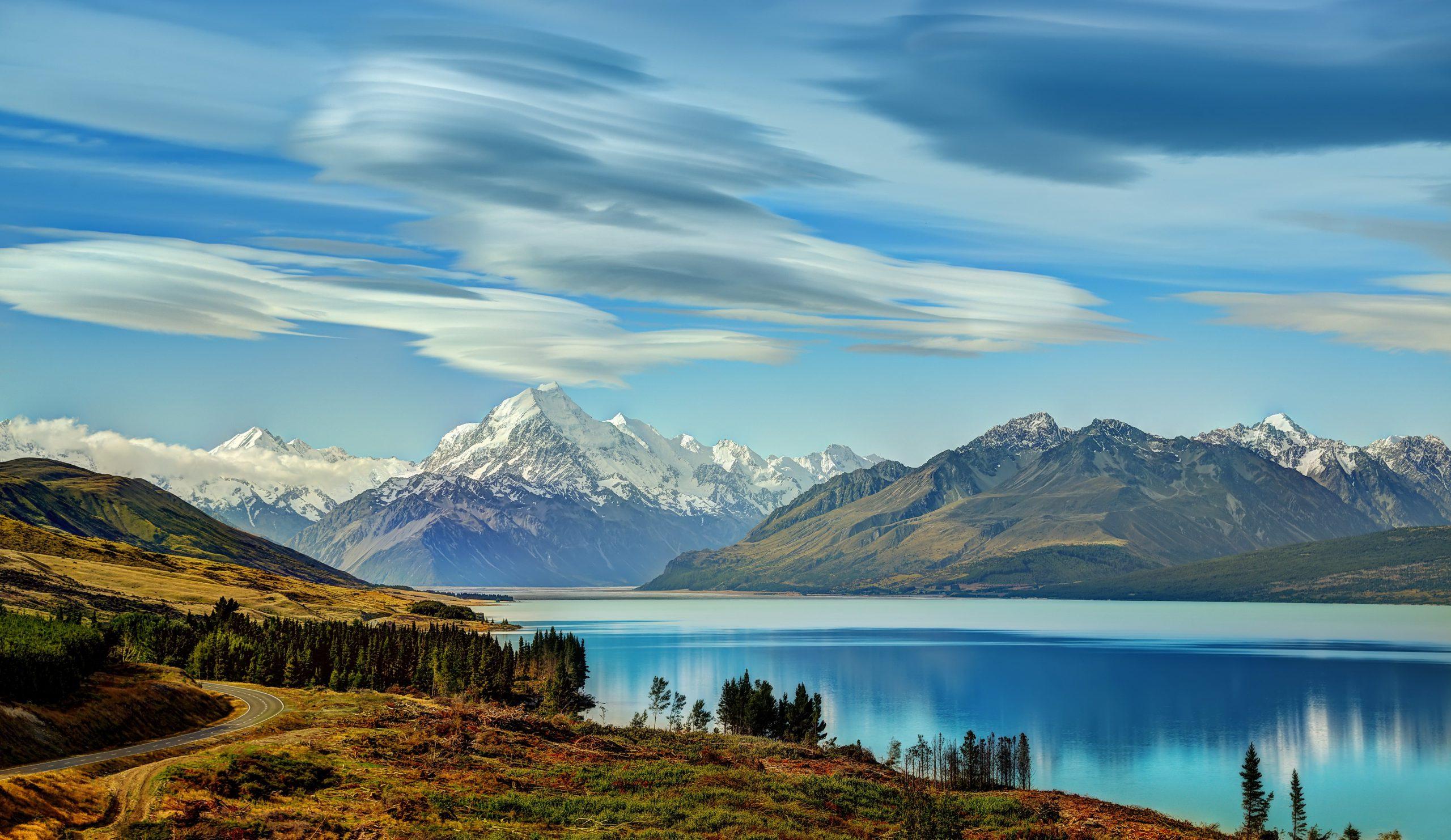 so nice Lake Tekapo Wallpaper