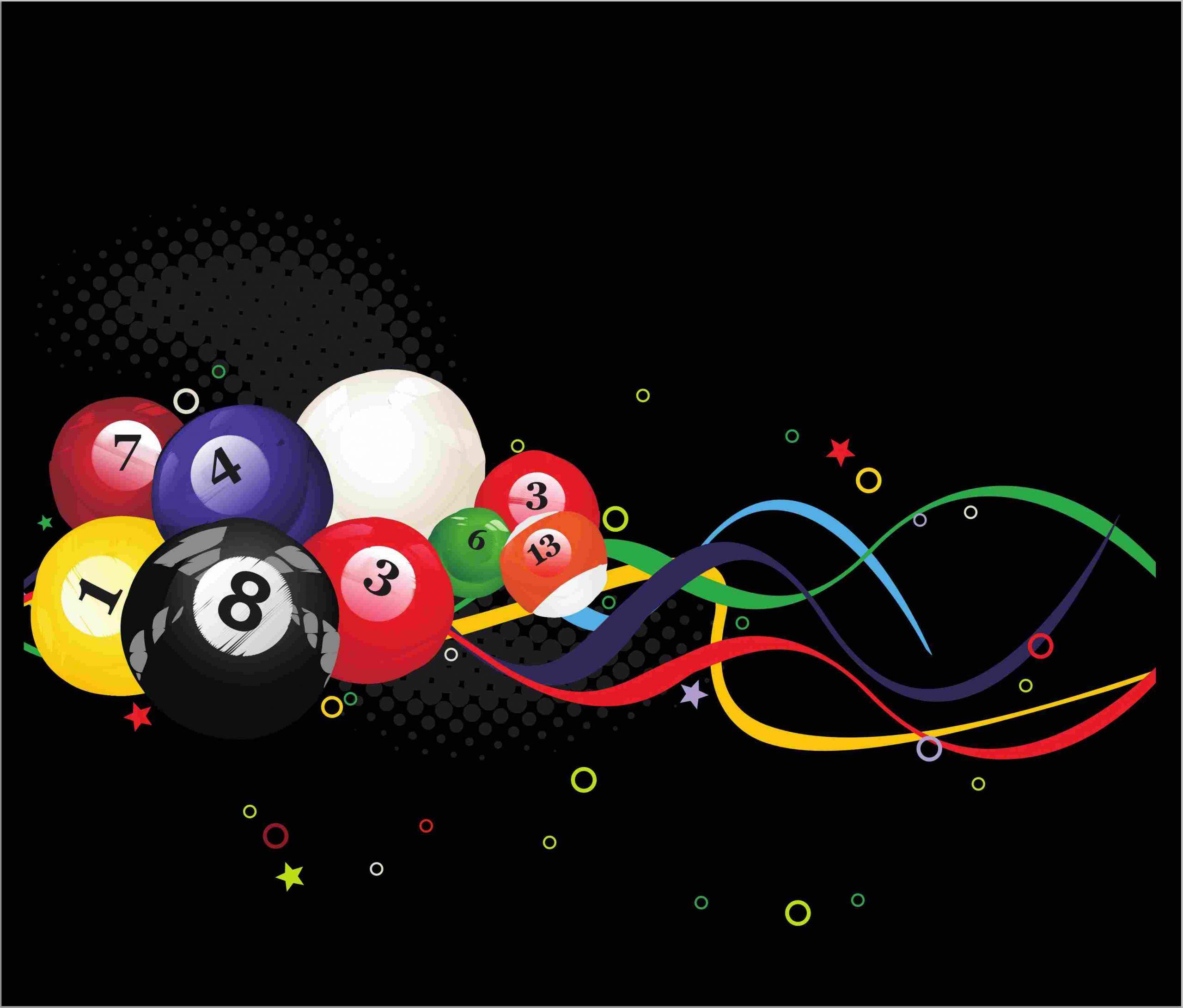 sport Billiard Balls Wallpaper