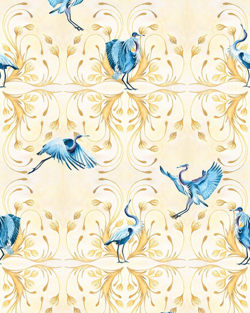 stunning 3d Heron Wallpaper