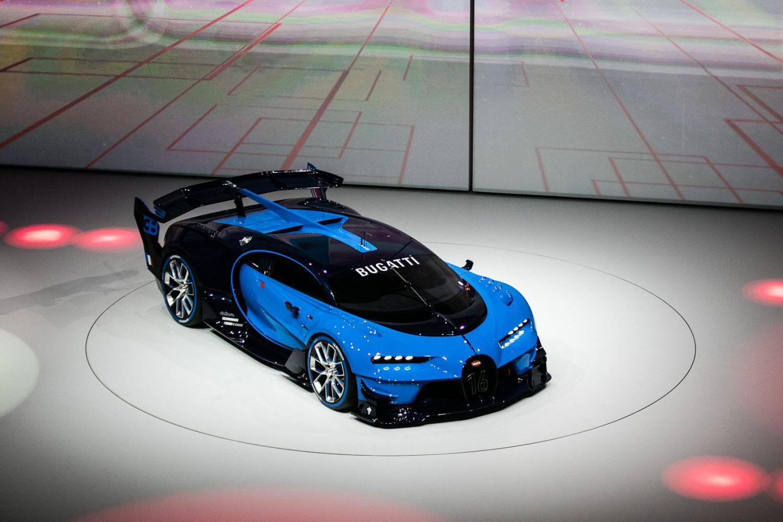 awesome Bugatti Vision Le Mans image
