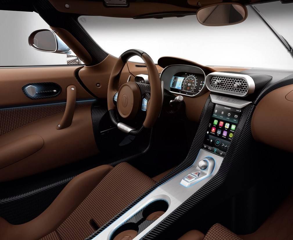 best interior Koenigsegg Regera