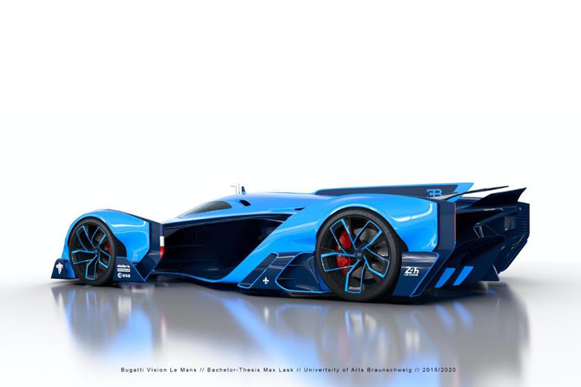 full top Bugatti Vision Le Mans image