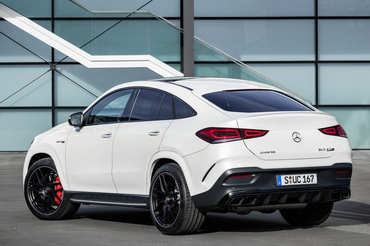 full white Mercedes-AMG GLE 63 S 4MATIC+