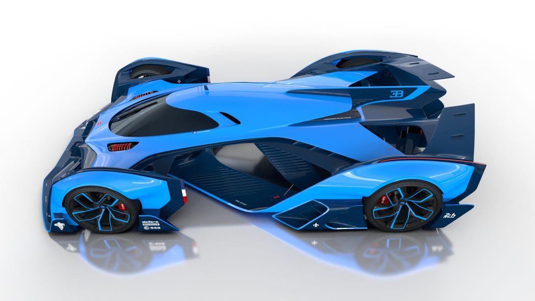 latest model Bugatti Vision Le Mans image