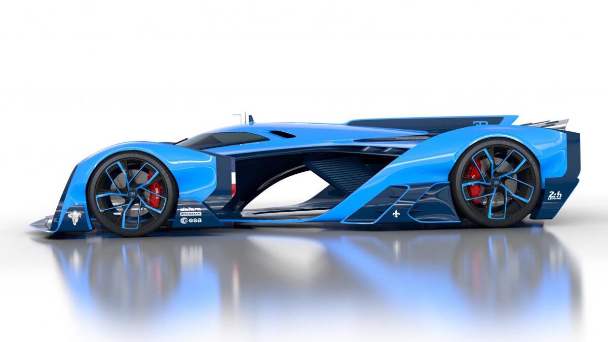 most popular Bugatti Vision Le Mans