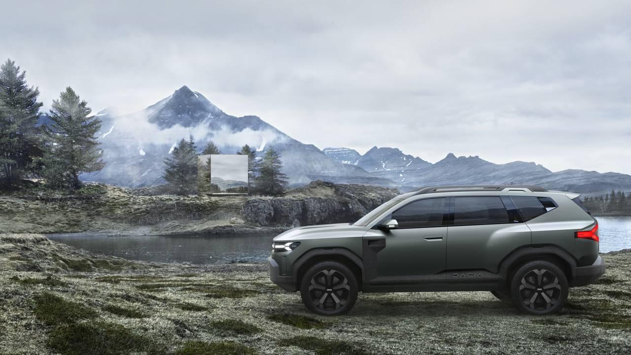 most popular Dacia Bigster Concept 2021