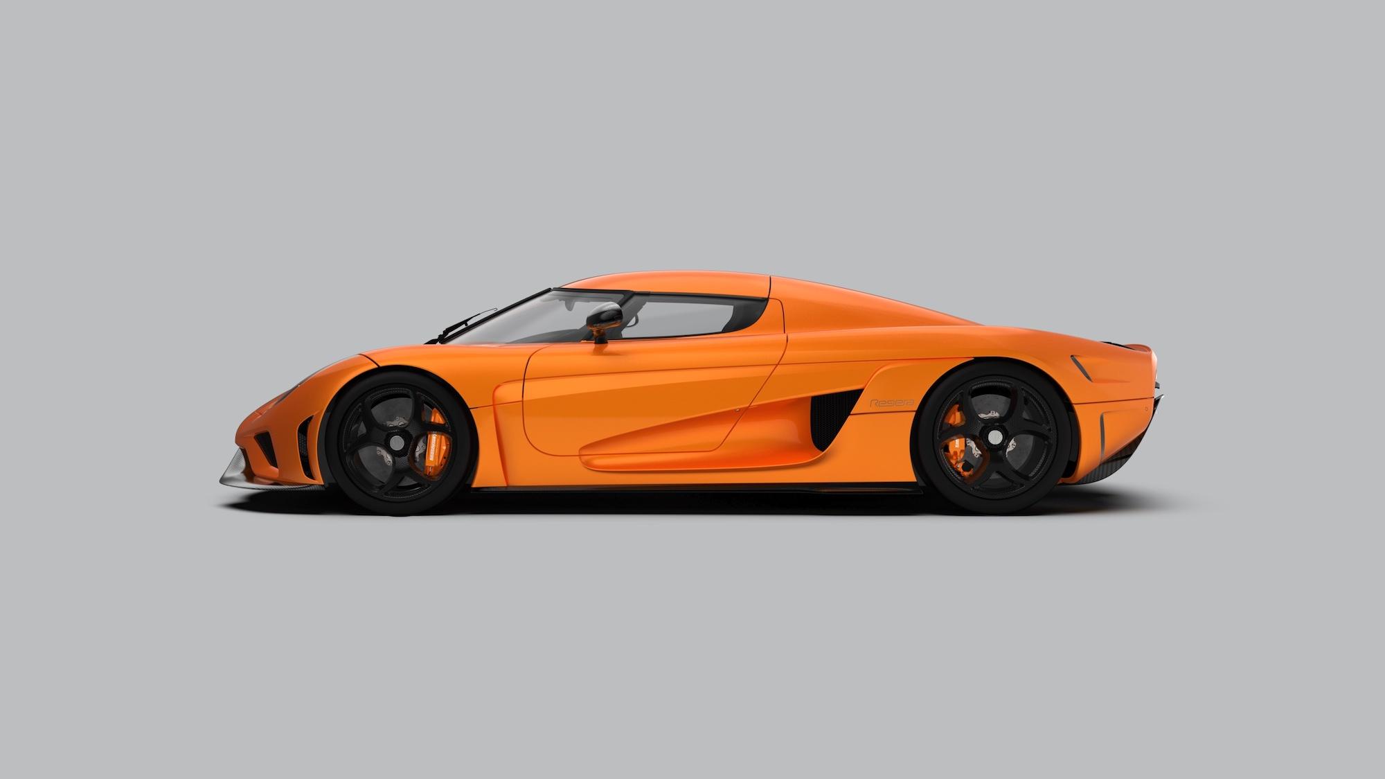 orange Koenigsegg Regera image