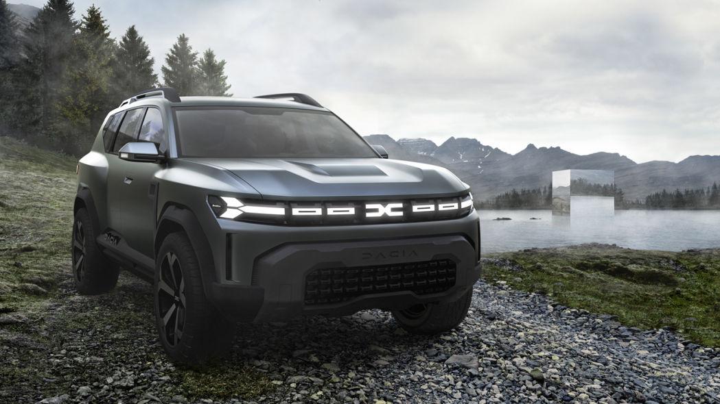 stunning Dacia Bigster Concept 2021