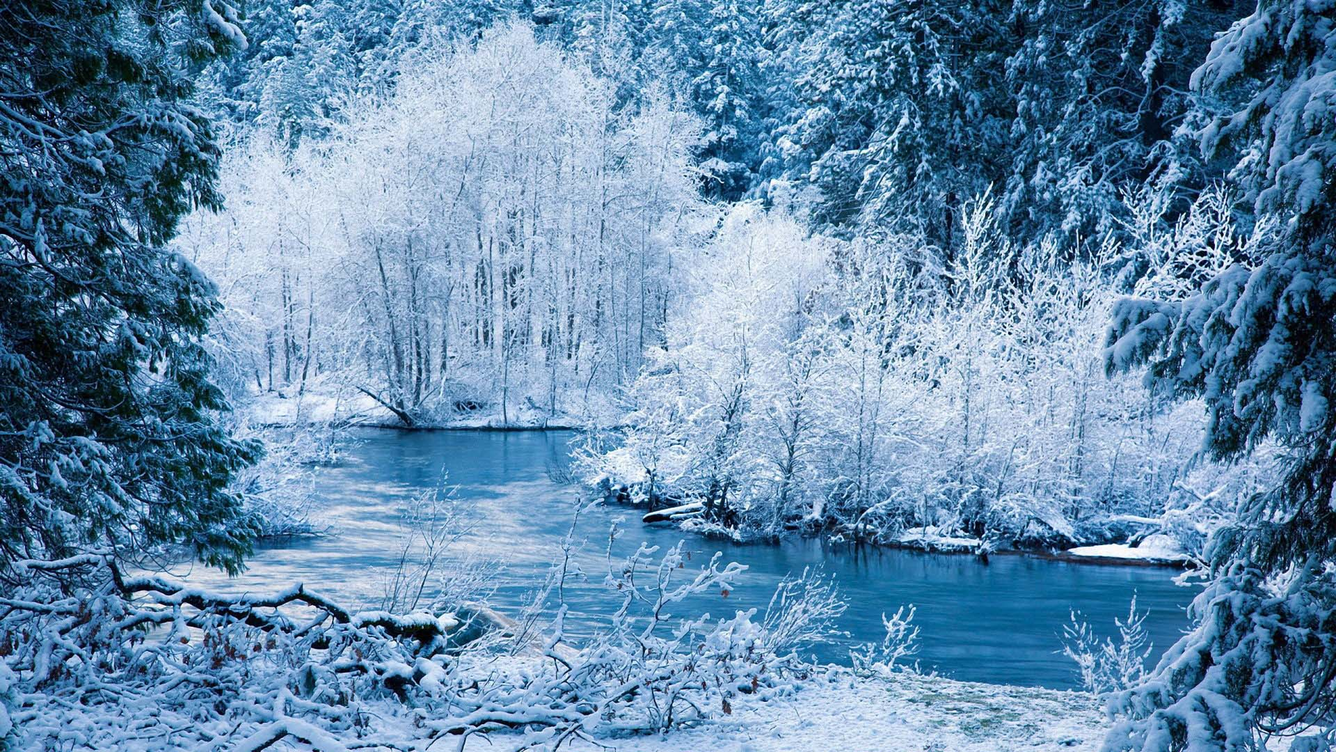 widescreen nature HD Winter Backgrounds