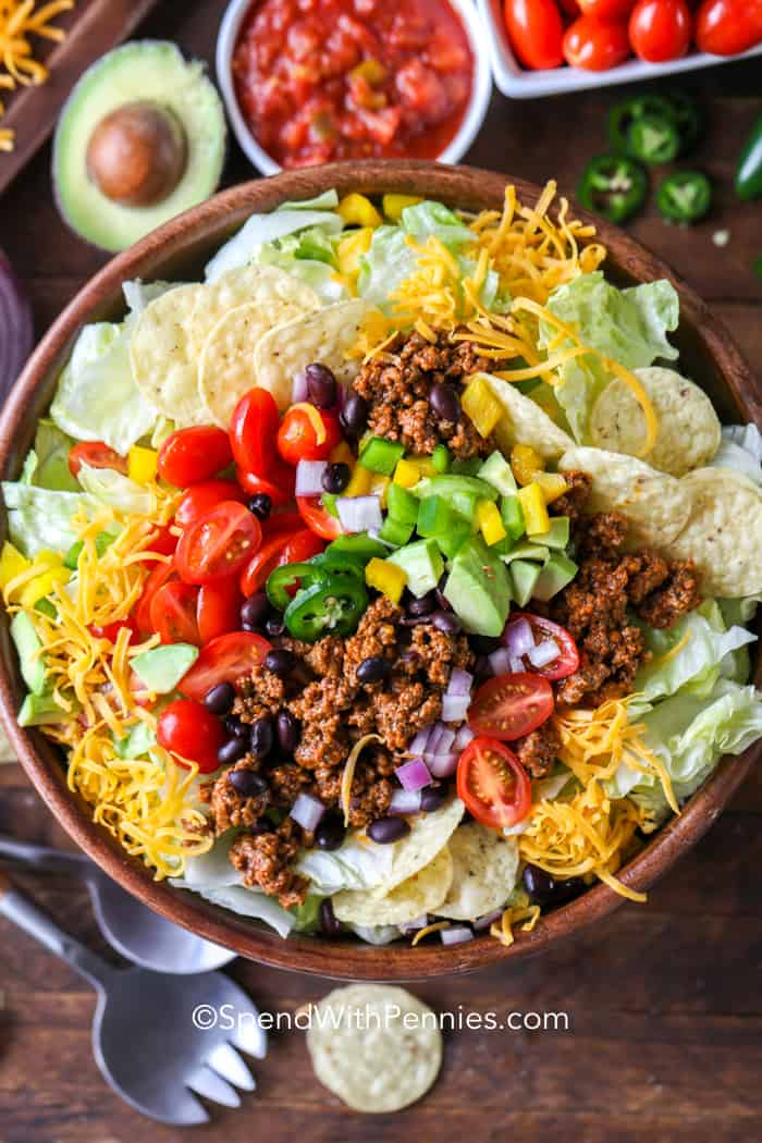 Great Food Taco Salad Images
