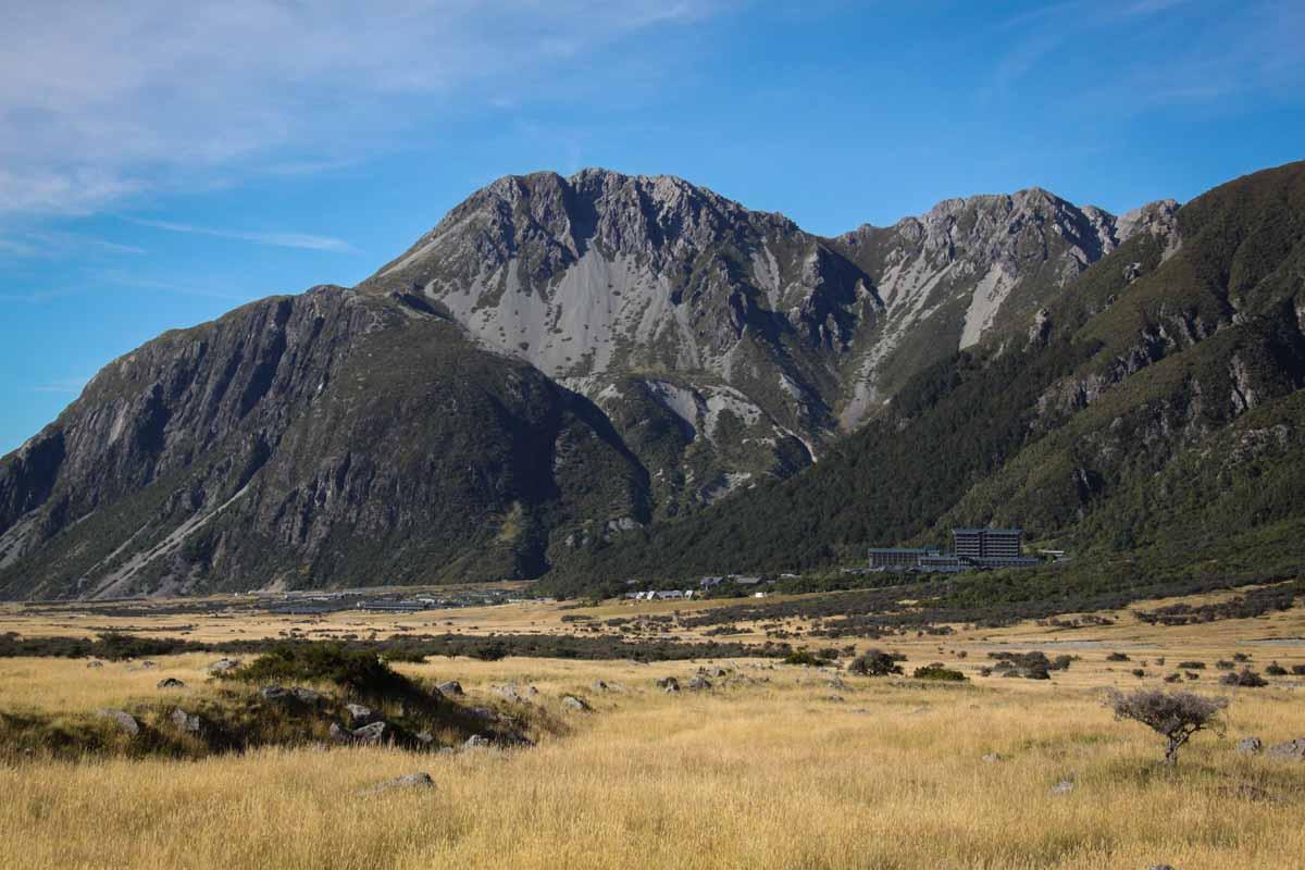 Widescreen Mount Cook National Park