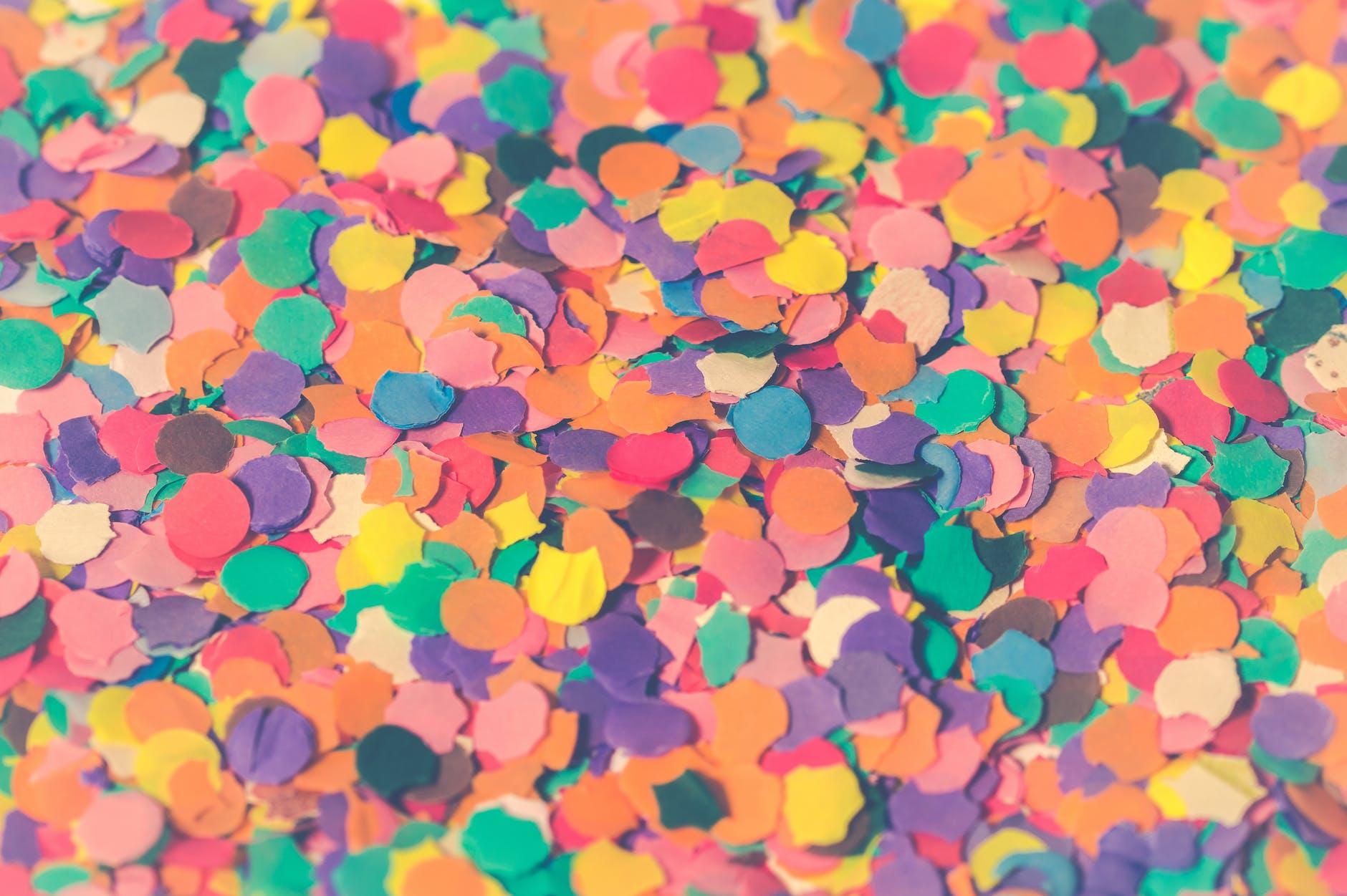 awesome hd Confetti Wallpaper