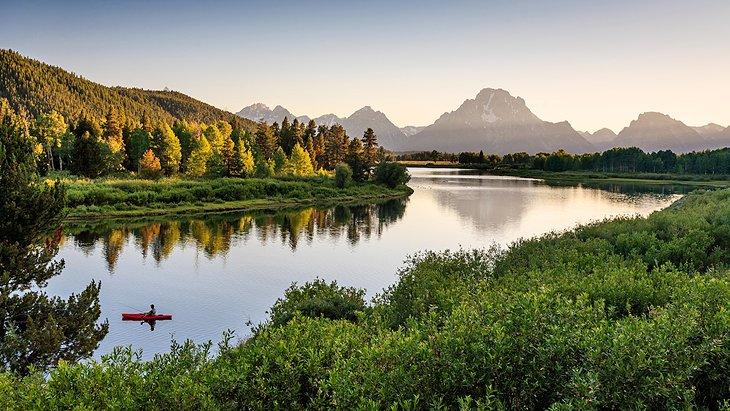 beautiful natural Tetons National Park
