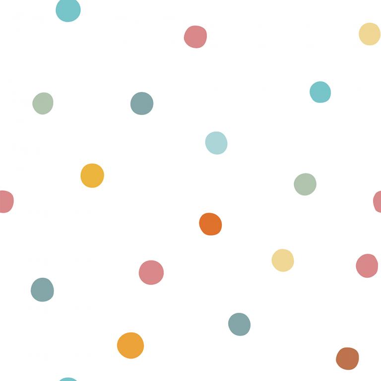 colorful dots Confetti Wallpaper
