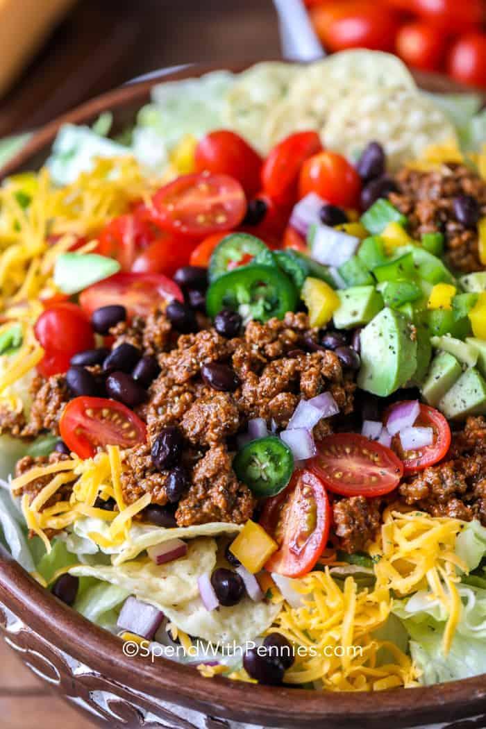 full top Taco Salad Images