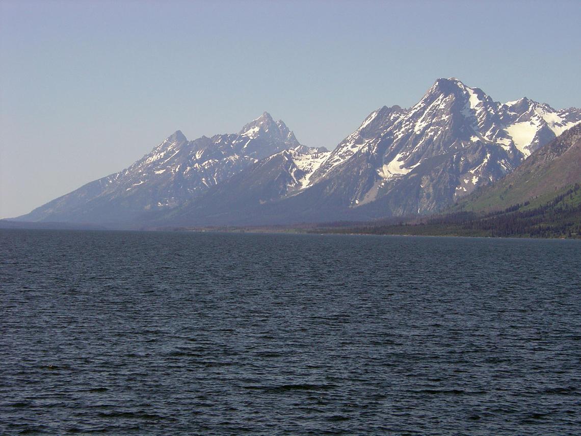 natural sea Tetons National Park