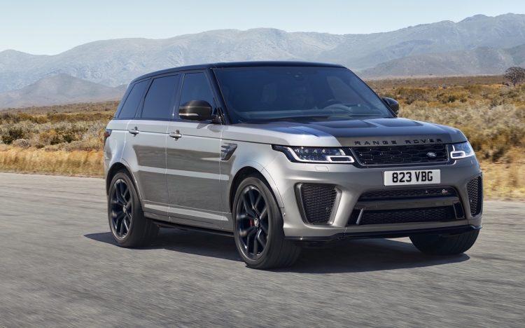 2021 model Range Rover Sport SVR Carbon image