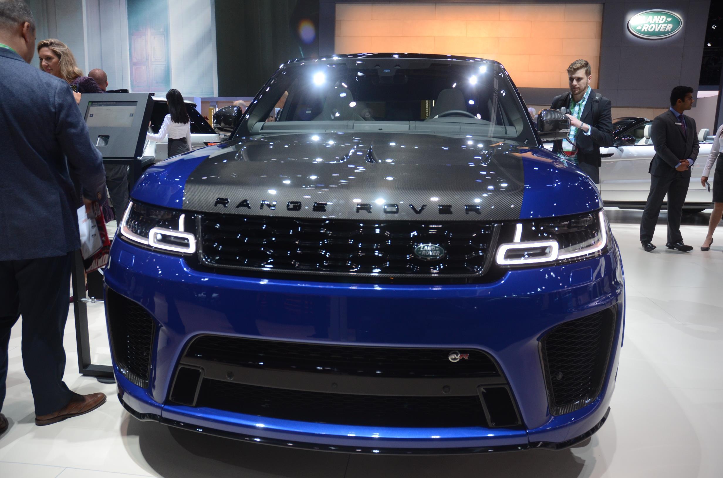 awesome car Range Rover Sport SVR Carbon