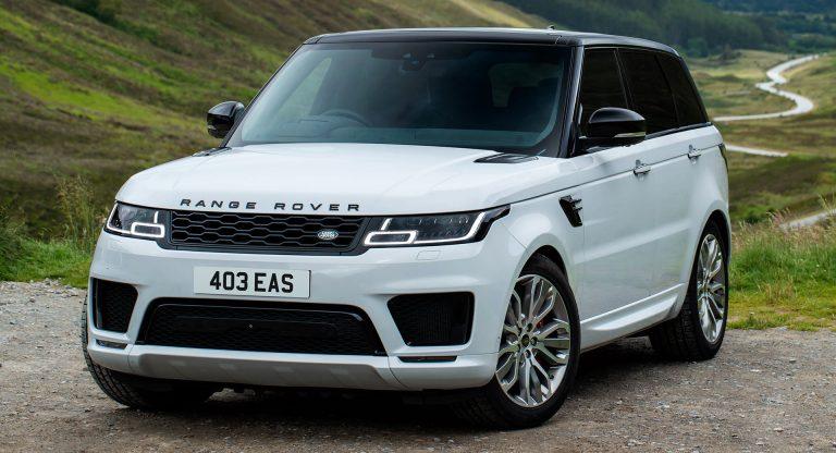 beautiful car Range Rover Sport SVR Carbon