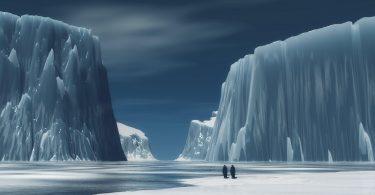 big mountain Antarctica Wallpaper