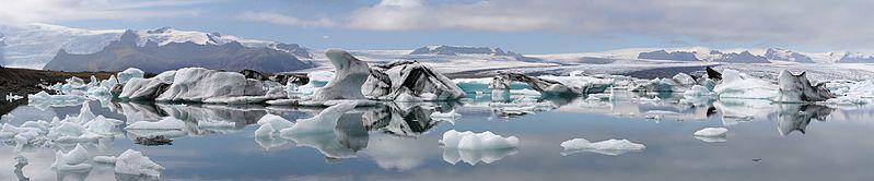 free Gletschersee Jökulsárlón Wallpaper