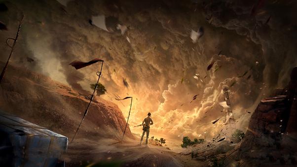 full top Sandstorm Wallpaper
