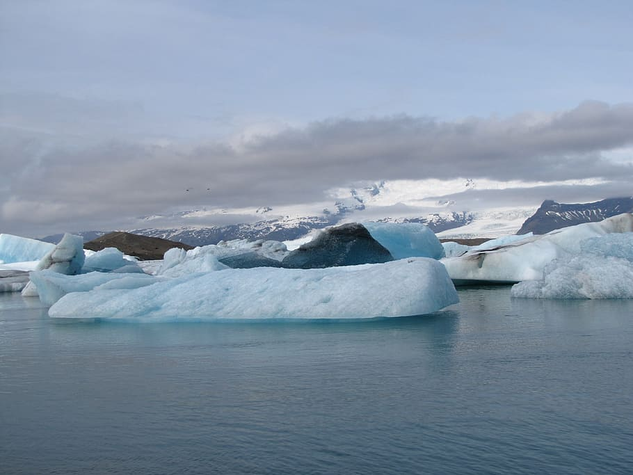 iceland Gletschersee Jökulsárlón Wallpaper