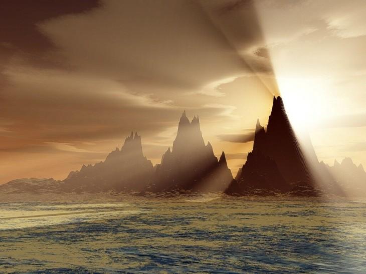 sea natural Sandstorm Wallpaper