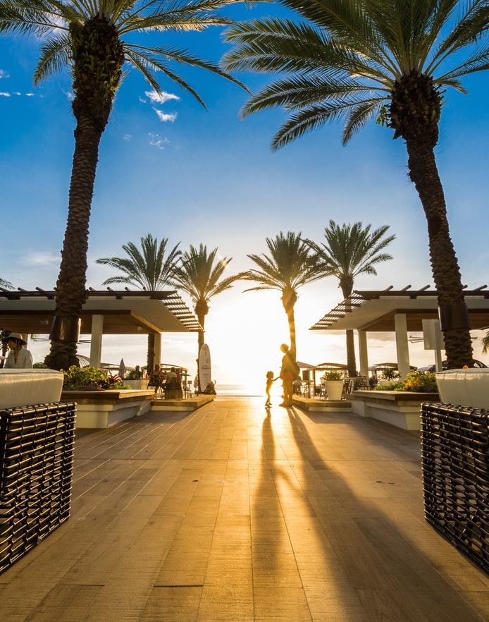 sundown Cayman Island Wallpaper