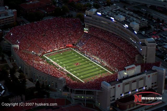 widescreen Nebraska Football Stadium Wallpaper