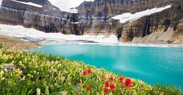 beautiful Glacier National Park image